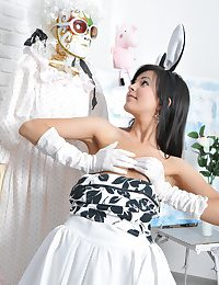 Amazingly scorching fluffy bunny